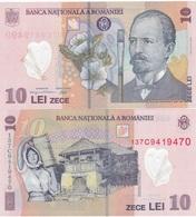 Romania - 10 Lei 2013 ( 2008 ) UNC Lemberg-Zp - Romania