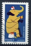 France, Circus, Elephant, 2017, VFU Self-adhesive - Frankrijk