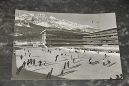 394  Stadio Olimpico De Ghiaccio   Cortina   Animata  1960 - Italia