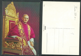 CARTOLINA ROMA PAPA PAOLO VI - C1-2 - Vaticano