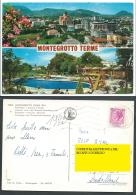 CARTOLINA MONTEGROTTO TERME PADOVA PISCINA TERMALE - C7 - Altre Città