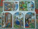 Carte Maximum Card (x5) Noel Christmas Caritas 1986 Luxembourg Ref 62034 - Cartes Maximum