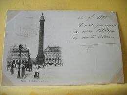 B16 7580 CPA 1899 - 75 PARIS. COLONNE VENDOME. EDIT. ?  (+ DE 20000 CARTES A MOINS DE 1 EURO) - France