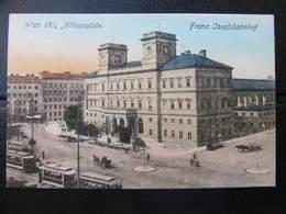 AK WIEN IX. Althanplatz Bahnhof 1916 // D*29805 - Wien