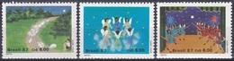Brasilien Brasil 1987 Religion Christentum Weihnacht Christmas Noel Natale Hirten Engel Angel, Mi. 2233-5 ** - Ungebraucht