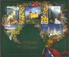 Oekraine Ukraine Ukraijna Cept 2004 Yvertn° Bloc 41 *** MNH  Cote 5 Euro - Europa-CEPT