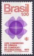 Brasilien Brasil 1973 Organisationen Wirtschaft Economy Handelskammer Chamber Of Commerce, Mi. 1366 ** - Brasilien
