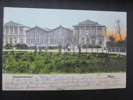 AK WIEN Staatsbahnhof Bahnhof 1905// D*29811 - Wien