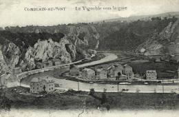 BELGIQUE - LIEGE - COMBLAIN-AU-PONT - Le Vignoble Vers La Gare. - Comblain-au-Pont