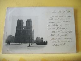 B16 7718 CPA 1899 - 75 PARIS. NOTRE DAME. EDIT. A. BOURDIER (+ DE 20000 CARTES A MOINS 1 EURO) - Notre Dame De Paris