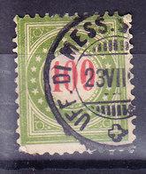 SUISSE  YT TX 26 Obl. (8A202) - Portomarken
