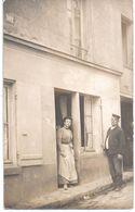 à Identifier - Carte Photo -  2 Personnes - Circulé à Destination De Aulnay-sous-Bois - Cartes Postales