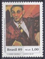 Brasilien Brasil 1989 Kunst Kultur Gemälde Paintings Persönlichkeiten Künster Maler Artist Painter Malfatti, Mi. 2336 ** - Brasilien