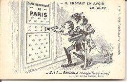 CPA Humoristique - IL CROYAIT EN AVOIR LA CLEF - Umoristiche