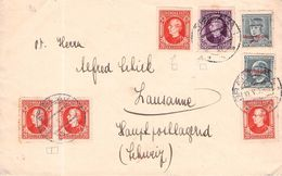 SLOWAKEI - LETTER 1939 BRATISLAVA -> LAUSANNE - Storia Postale