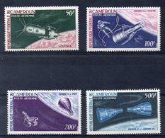 CAMEROUN  Série De Timbres De 1966 -poste Aérienne N° 70-73 -  (ref 4959 ) Espace - Gémini - Kamerun (1960-...)