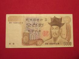 Corée Du Sud - South Korea 5 000 Won 1983 Pick 48 TTB / VF ! (CLN102) - Corée Du Sud