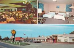 Quality Inn Vineyard Motel, Dunkirk New York, Bedroom Interior Views, C1970s Vintage Postcard - Hotels & Restaurants