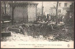 Paris - Guerre  ( Zeppelins Sur Paris ) : Effet D'une Bombe 1 - Autres