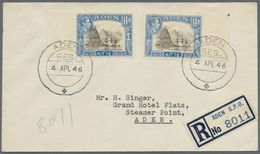 GA/Br/ Aden: Since 1910, Aden & South Arabian Federation: Nice Collection Of 65 Covers And PPC's, Starting - Yemen