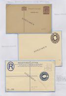 GA Aden: 1937-60 POSTAL STATIONERY: Collection Of 45 Postal Stationery Cards, Envelopes, Registered Env - Yemen