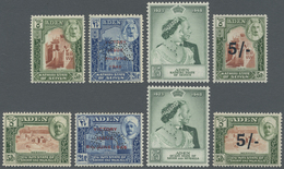**/*/Br Aden: 1942/1967 (ca.), Accumulation Of Seyun And Hadhramaut In Album With Several Better Issues, Com - Yemen