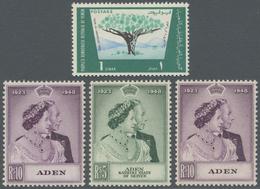 **/*/O Aden: 1948/1970 (ca.), Accumulation In Box Incl. Kathiri State Of Seiyun, Mahra State, Qu'aiti State - Yemen