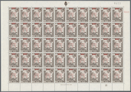 ** Aden - Qu'aiti State In Hadhramaut: 1966, Definitives With Red Bilingual Opt. 'SOUTH ARABIA' And Add - Yemen