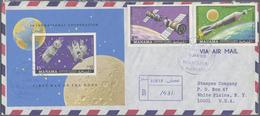 Br Adschman / Ajman: 1970/1971, Ajman/Manama, Lot Of 18 (mainly Registered Airmail) Covers Bearing Attr - Ajman