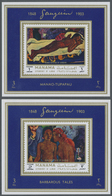** Adschman - Manama / Ajman - Manama: 1972, Paintings By Paul GAUGUIN Set Of Eight Different Imperfora - Manama