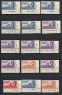 **/O/* Ägypten: 1875/1955 (ca.), Mint And Used Assortment On Stocksheets, Comprising E.g. 38 Marginal Impri - Egypt