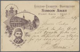 Br/GA Ägypten: 1890/1965, Posten Mit 104 Belegen Dabei Viele Ganzsachen - Egypt