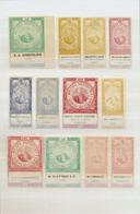 "(*) Ägypten - Besonderheiten: 1890s, FISCALS ""Cigarette Stamps"", Collection Of 55 Different Stamps. - Egypt"