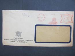 BRIEF Praha 35 Zemska Hasicska 1942 Frankotype Freistempel Postfreistempel /// N2764 - Böhmen Und Mähren