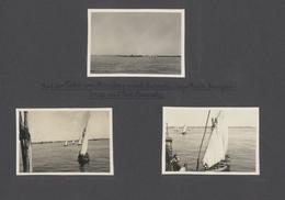 Ägypten - Besonderheiten: 1926: Two Photo Albums Throu Egypt (Suez) And Pakistan. 148 Photos Taken B - Egypt