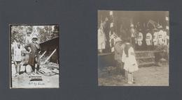 Äthiopien: 1909: Photo Album With 141 Photos From Ethiopia, Mostly Family Pictures. ÷  1909: Fotoalb - Ethiopia
