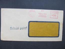 BRIEF Praha 31 Helika 1949  Frankotype Freistempel Postfreistempel /// N2768 - Briefe U. Dokumente