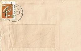 Zaire DRC Congo 1983 Kinshasa 20 Rotary Art 500k Cover - 1980-89: Afgestempeld