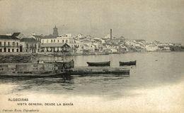 ALGECIRAS (CADIZ) - VISTA GENERAL DESDE LA BAHÍA. - Cádiz