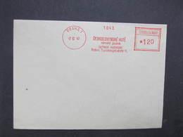 BRIEF Praha 1 Cs. Hute 1947 Frankotype Freistempel Postfreistempel /// N2796 - Tschechoslowakei/CSSR