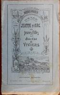 VIVIERS (ARDÈCHE) LIVRET: UNION JEANNE D'ARC DES JEUNES FILLES DU DIOCÈSE DE VIVIERS. BULLETIN MENSUEL OCTOBRE 1925. - Religion