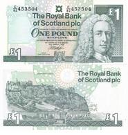 Scotland - 1 Pound 1999 UNC Lemberg-Zp - [ 3] Scotland