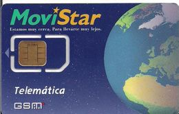 RRR GSM MOVISTAR TELEMATICA - Tarjetas Telefónicas