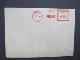 BRIEF Praha 1 Pruna 1948 Frankotype Freistempel Postfreistempel /// N2807 - Tschechoslowakei/CSSR