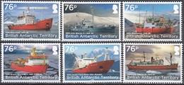 British Antarctic Territory 2017 Bateaux Neuf ** - Territoire Antarctique Britannique  (BAT)