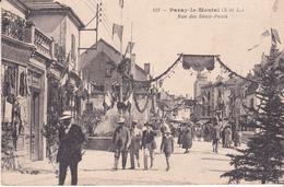 PARAY LE MONIAL - Rue Des Deux Ponts - Paray Le Monial