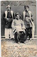 CPA Perse Iran Persia Circulé Tauris Types Kurdes Dos Non Séparé - Iran