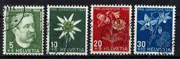 Schweiz 1944 // Mi. 439/442 O (016..267) - Gebraucht