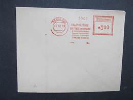 BRIEF Praha 022 Krajsky Zavod 1949 Frankotype Freistempel Postfreistempel /// N2812 - Tschechoslowakei/CSSR