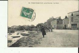 Trentemoult  44    Le  Quai Tres Animé Et Debitant ( Ecorce ) Epicerie Et Au Fond Café - Other Municipalities